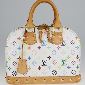 Louis Vuitton Monogram Multicolore Alma PM NM Bag